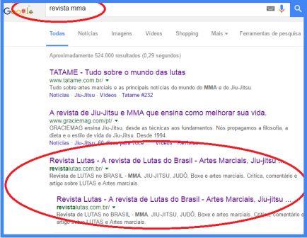 revista de lutas no brasil