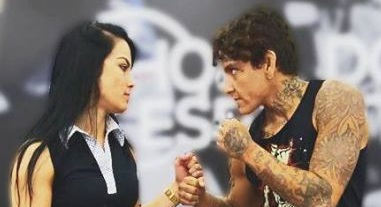 mma lutadora sarah frota no np fight