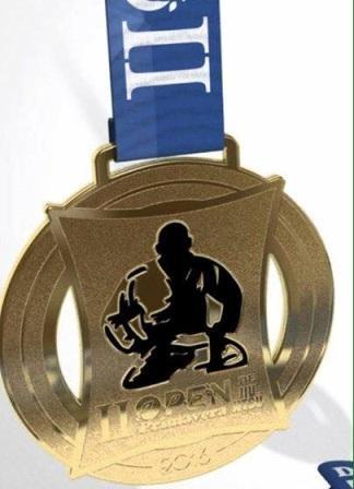 medalha de jiu-jitsu - open primavera