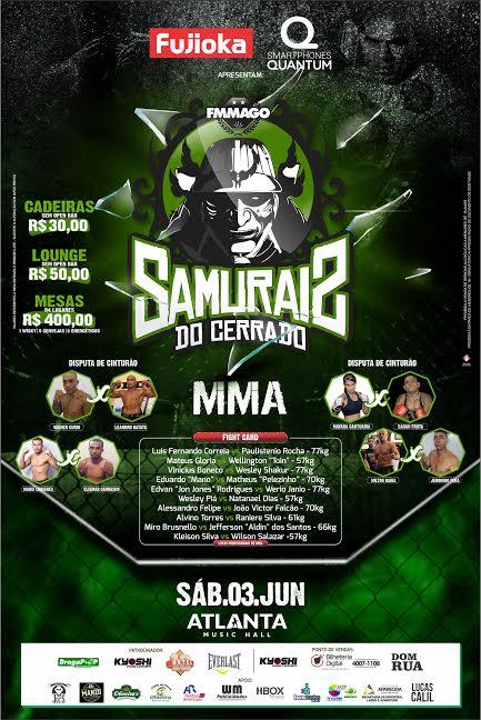 samurais do cerrado mma